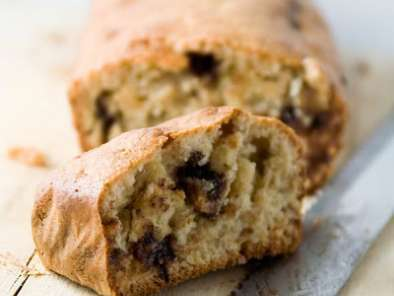 Pan de plátano saludable sin harina,