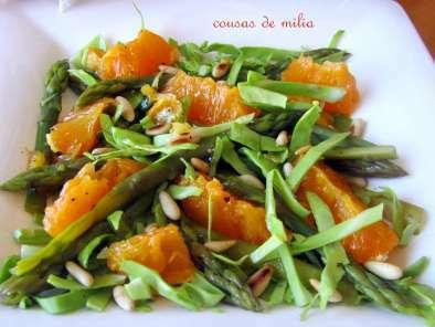 Ensalada de espárragos y naranja, Foto 2