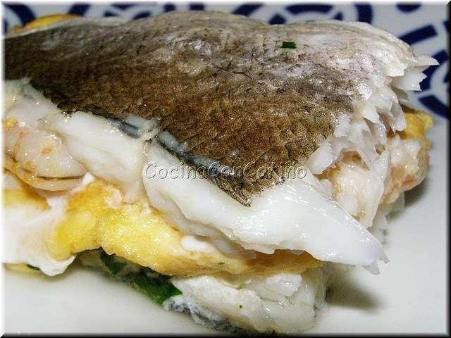 Merluza de pincho rellena al horno receta petitchef - Merluza rellena de marisco al horno ...