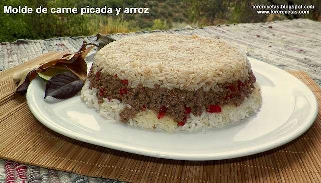 Molde de carne picada y arroz receta petitchef - Que cocinar con carne picada ...