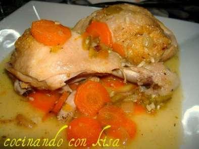 Muslos de pollo en salsa fussioncook receta petitchef for Muslos pollo en salsa