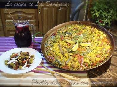 Paella De Costillas Con Verduras Receta Petitchef