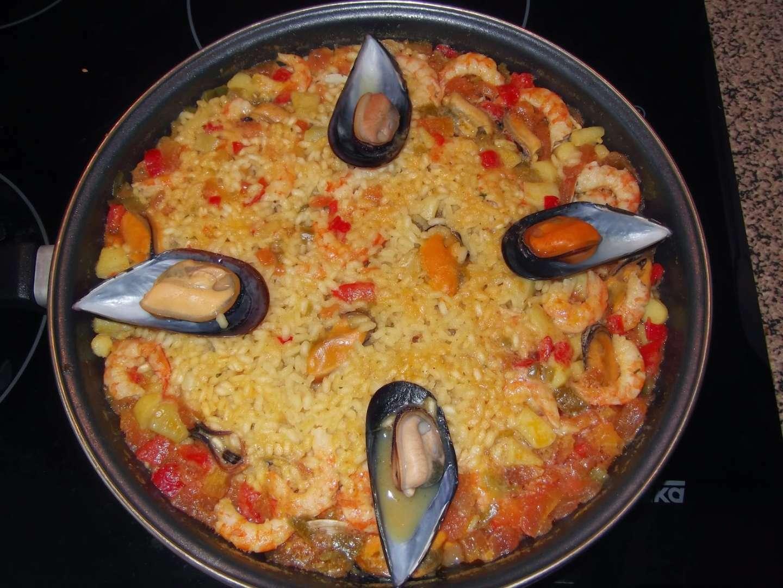 Paella de pescado receta petitchef - Paella de pescado ...