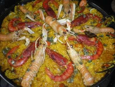 Paella de pescado y marisco receta petitchef - Paella de pescado ...