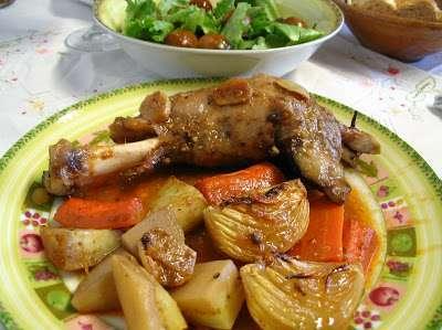 Paletilla de cordero al horno receta petitchef for Cocinar paletilla de cordero