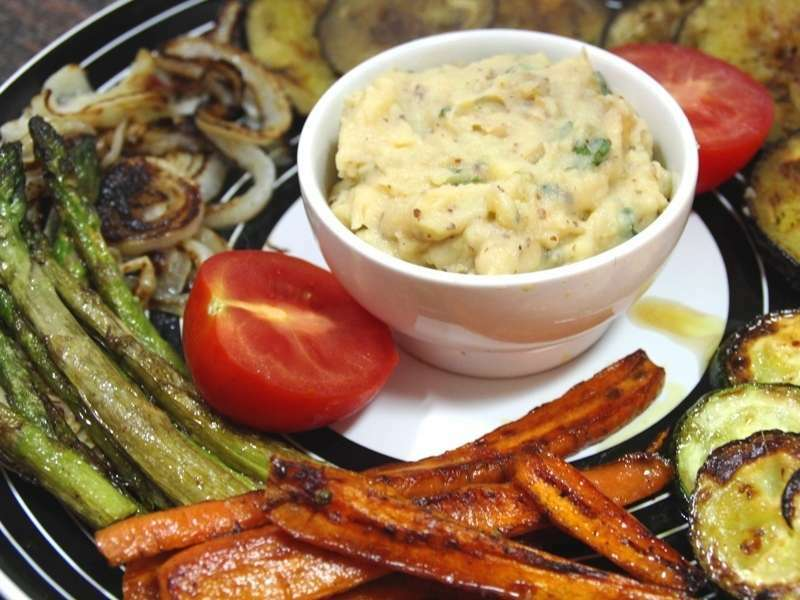 Parrillada de verduras con pur especiado receta petitchef for Parrillada verduras