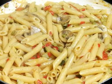 Pasta Con Verduras Original Italiana