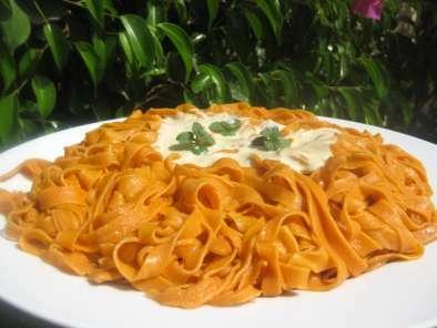 Pasta Fresca Casera De Tomate Con Y Sin Thermomix