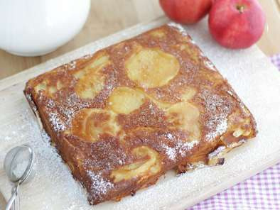 Pastel de manzana invisible