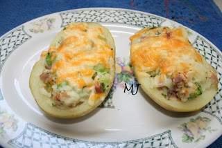 Patatas rellenas de brocoli receta petitchef for Cocinar patatas rellenas