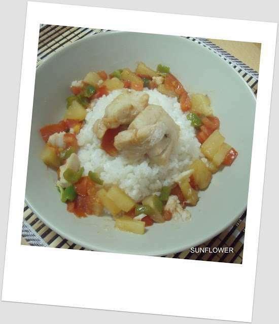 Pescado agridulce en microondas receta petitchef - Cocinar pescado en microondas ...
