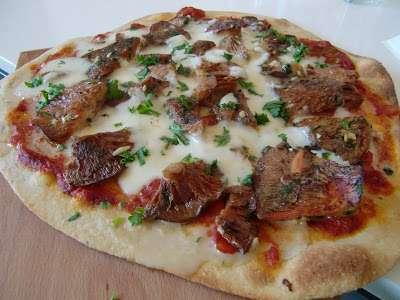 Pizza de setas al ajillo receta petitchef - Setas cultivadas al ajillo ...
