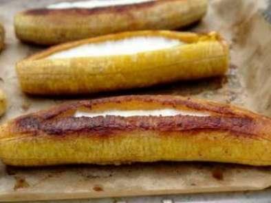 Plátanos Al Horno Rellenos