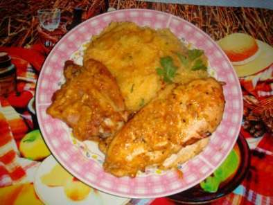 Pollo A La Naranja Con Especias
