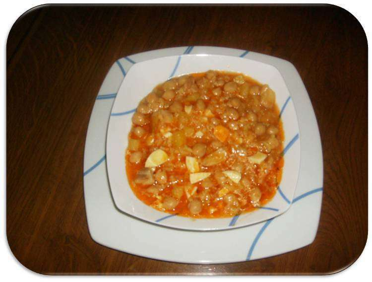 Potaje de garbanzos con arroz receta petitchef - Potaje garbanzos con arroz ...