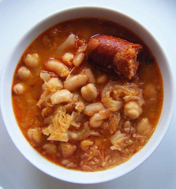 Potaje de garbanzos judias y col receta petitchef - Potaje de garbanzos y judias ...
