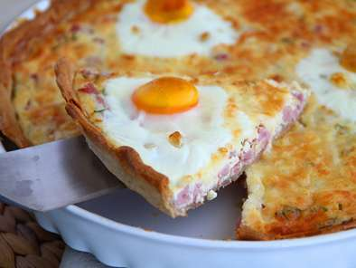 Quiche de huevos y jam n f cil receta petitchef for Quiche de verduras facil