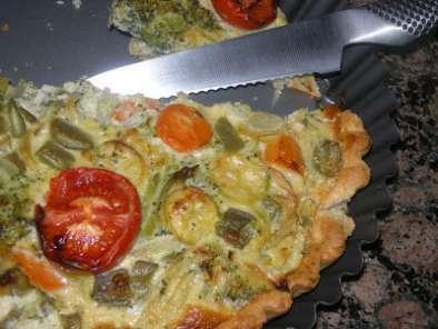 Quiche de verduras receta petitchef for Quiche de verduras facil