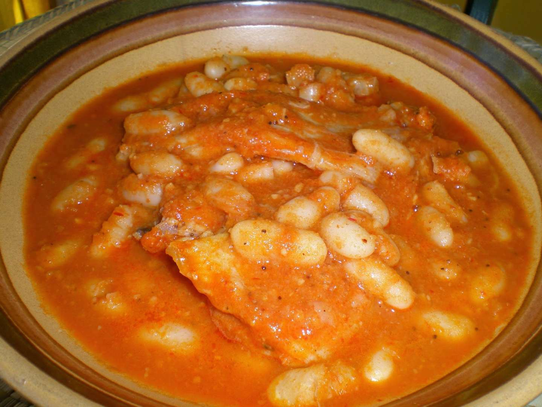 Raya con judias blancas receta petitchef for Cocinar judias negras