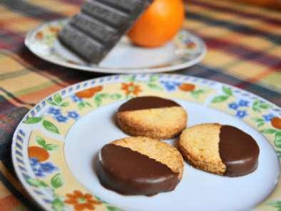 Receta Galletas a la Naranja con Chocolate