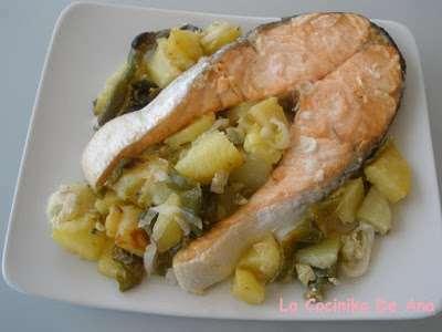 Cocinar Salmon Al Horno   Salmon Al Horno Receta Petitchef