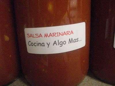 Salsa marinara en conserva receta petitchef for Hacer salsa marinera