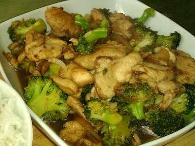 Salteado De Pollo Con Brócoli Receta China