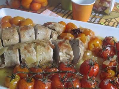 Solomillo De Cerdo Asado Con Kumquats Receta Petitchef