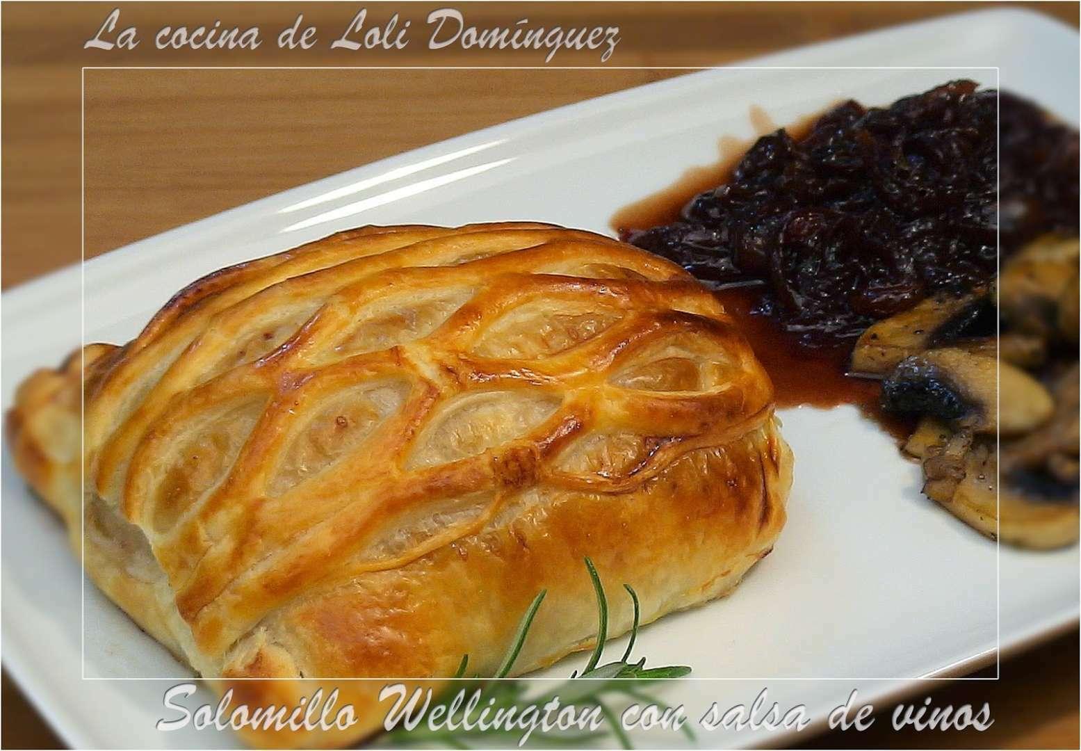 Solomillo wellington con salsa de vinos receta petitchef - Salsa de oporto para solomillo ...