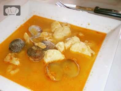 Sopa de pescado y marisco receta petitchef - Sopa de marisco y pescado ...