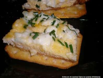 tapas con tortilla francesa