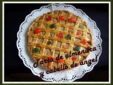 Tarta De Almendra Y Cabello De