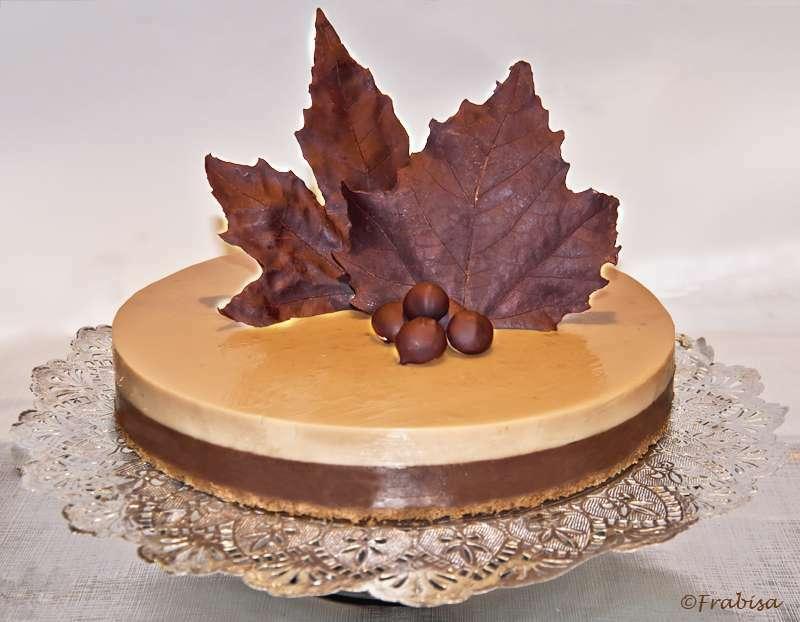 Tarta De Chocolate Y Turron Receta Petitchef