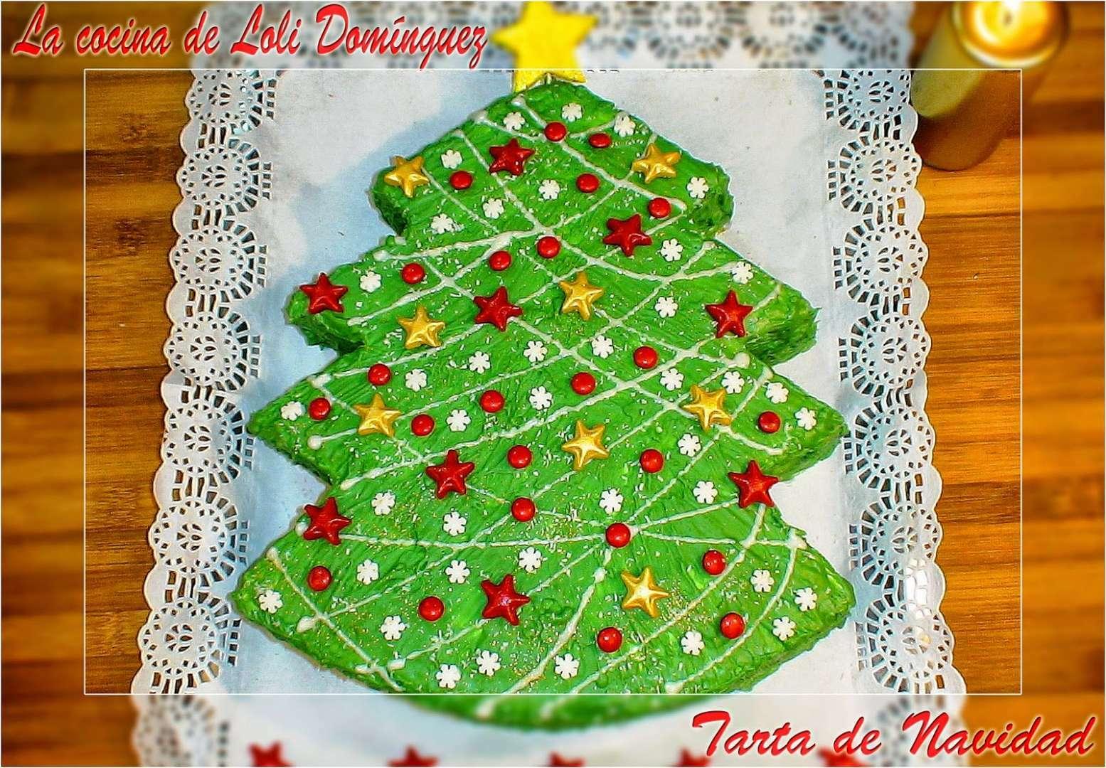 Tarta De Navidad Receta Petitchef