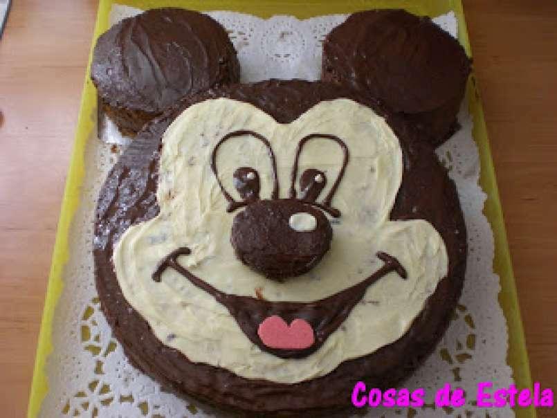 Tarta Mickey Mouse Mycook Receta Petitchef