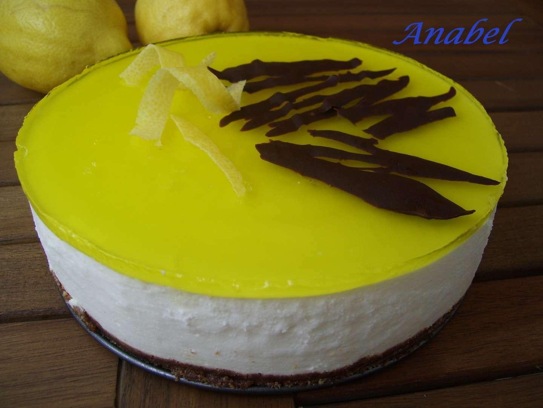 Tarta mousse de limon - Receta Petitchef