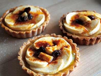 Tartas De Manzana Con Crema Pastelera De Especias Y Ciruelas Pasas Receta Petitchef
