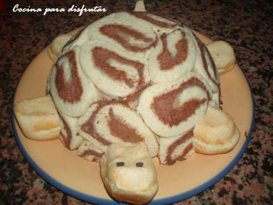 Tartas Infantiles Pastel Tortuga Receta Petitchef