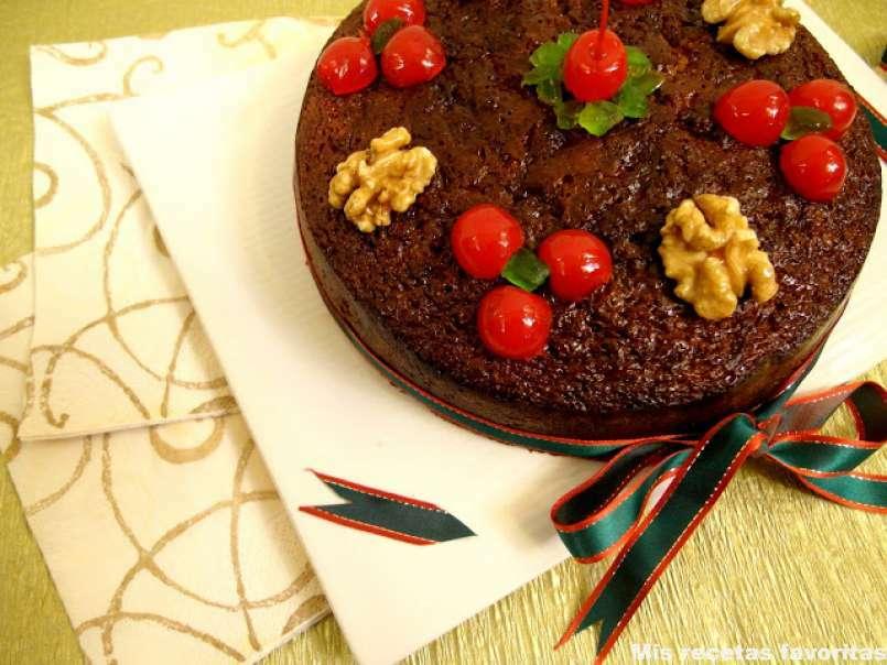 Torta Negra De Navidad Receta Petitchef