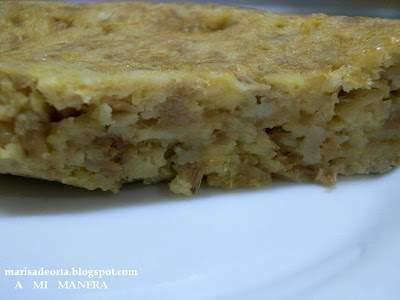 Tortilla de patatas fritas receta petitchef for Cocinar ortiguillas