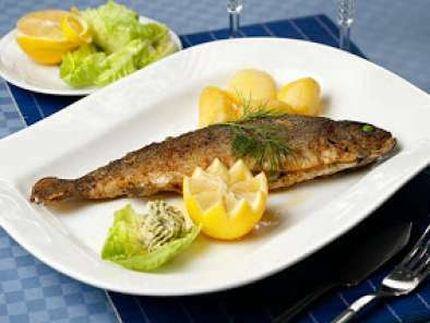Cocinar Trucha Al Horno | Truchas Al Horno Receta Petitchef