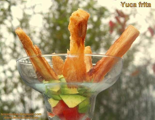 Yuca frita receta petitchef - Como cocinar yuca ...