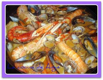 zarzuela de pescado y marisco receta petitchef