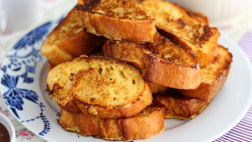 Tostadas francesas pan perdido con brioche for Sopas francesas famosas