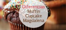 Entre cupcake, muffin y magdalena
